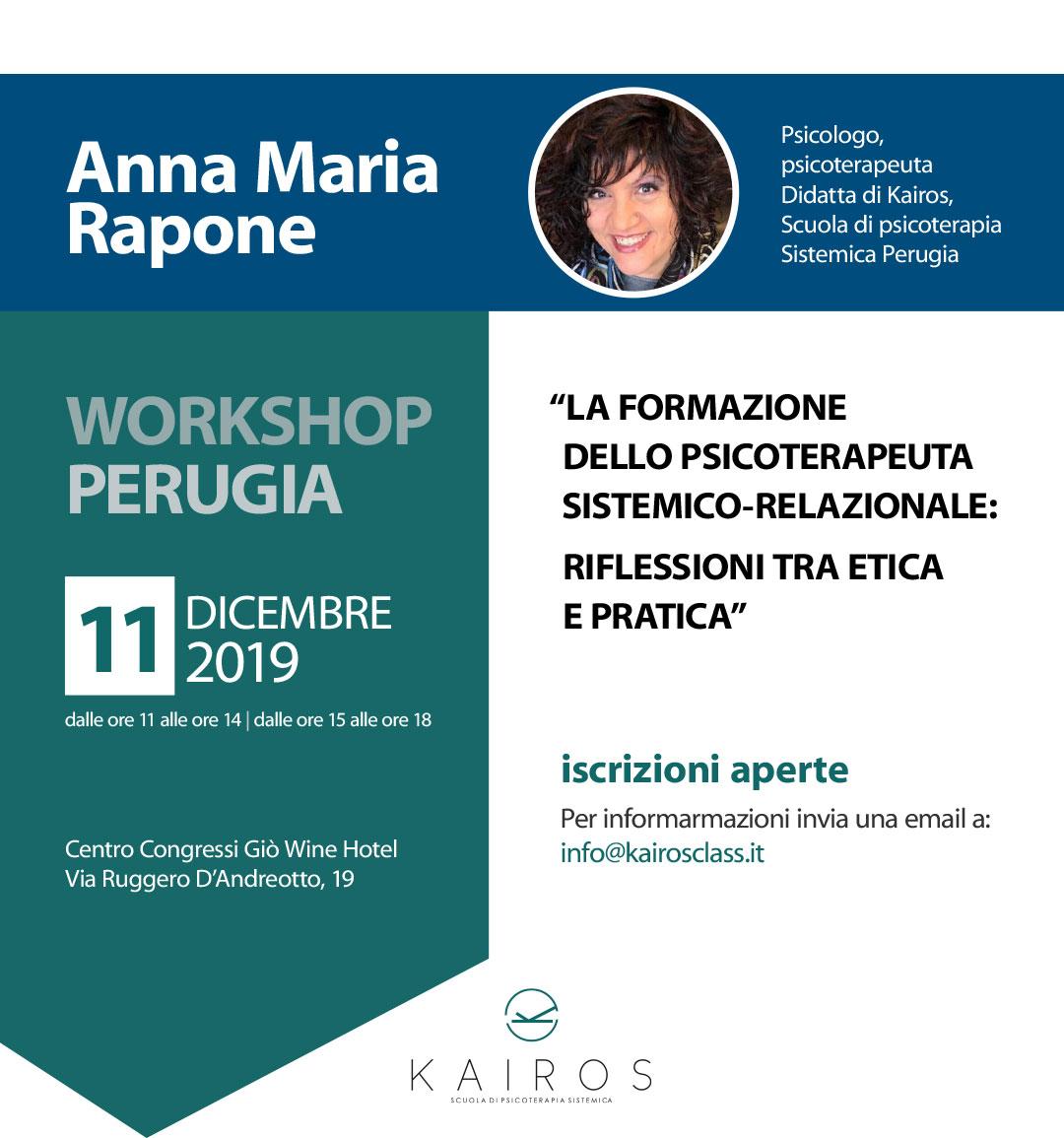 11 Dicembre 2019 Workshop