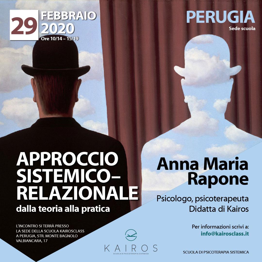 29 02 2020 Approccio sistemico-relazionale relatore A. M. Raponi